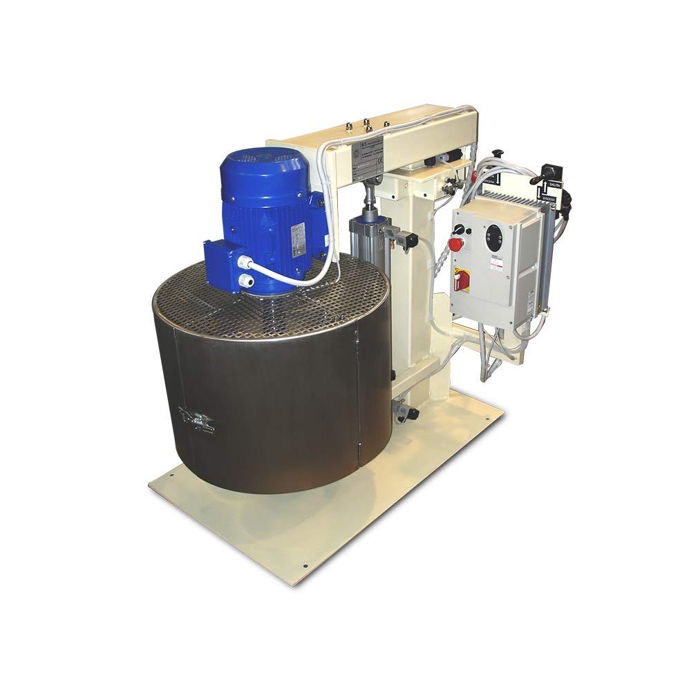 bassa viscosita turbodispersori e mescolatori singolo albero 5