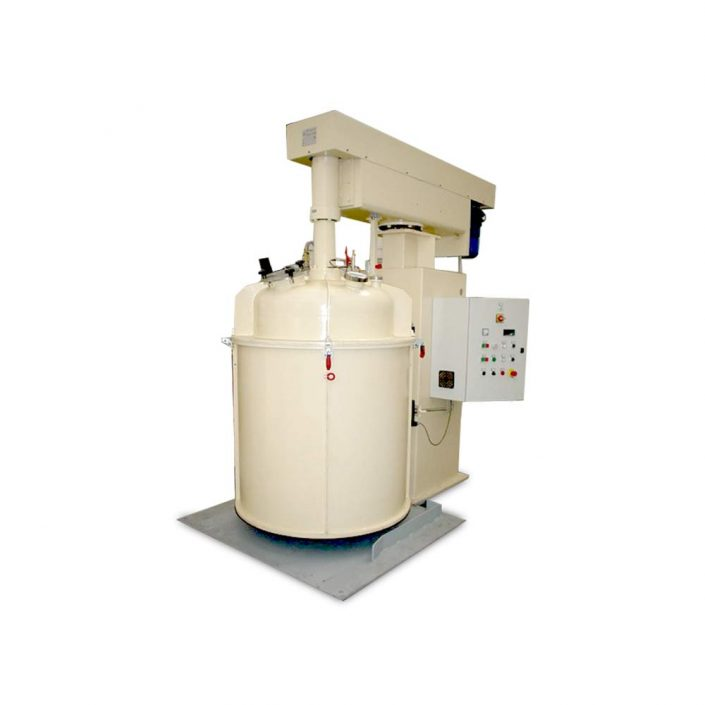 bassa viscosita turbodispersori e mescolatori singolo albero DVI 10 I SV LOX