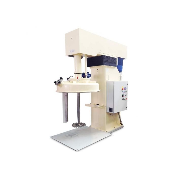 bassa viscosita turbodispersori e mescolatori singolo albero DVI 100 I SC SV1