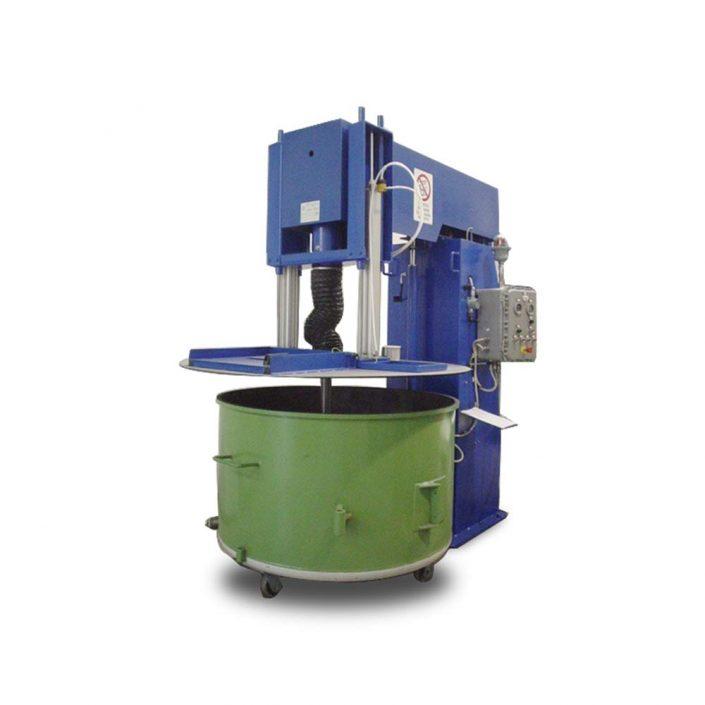 bassa viscosita turbodispersori e mescolatori singolo albero DVI50