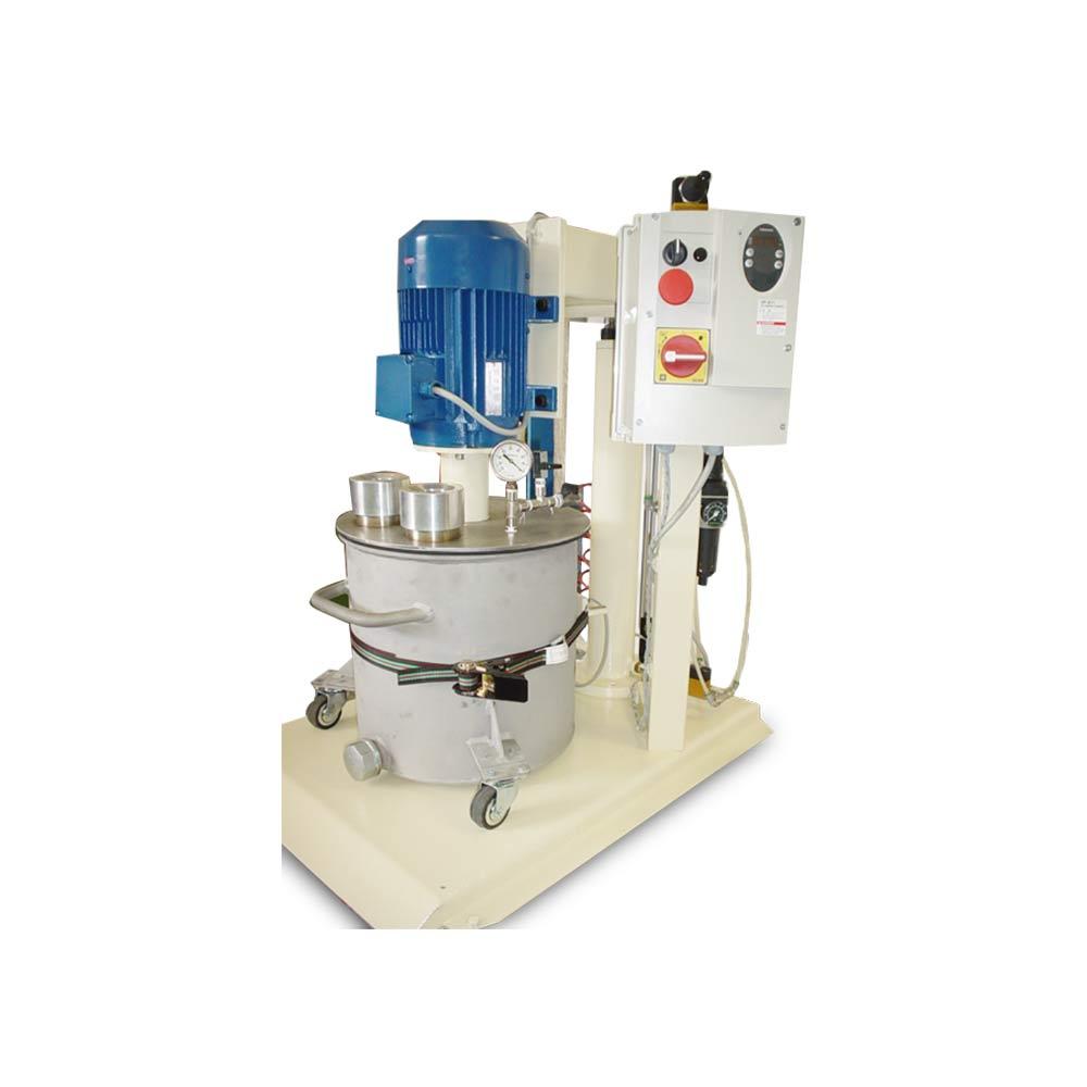 bassa viscosita turbodispersori e mescolatori singolo albero M 30 SV
