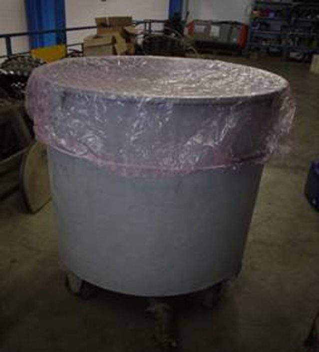 cuffia per miscelatori e vasche industraili 1
