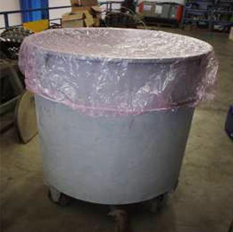 cuffia per miscelatori vasche industriali